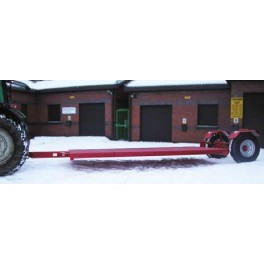 14ft Hydraulic Low Loader