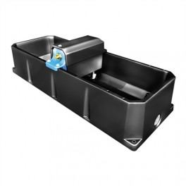 Rectangular Drinking Trough - 75 litre - with Ballcock (Centre Fill)