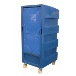 """5ft 10"""" Distribution Trolley (50/50 Zip Curtain)"""