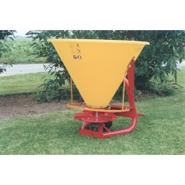 Steel Hopper Fertilizer Spreader - 250L - 16hp