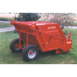 Sweeper Collector - 16hp - Hopper Capacity 1.2m³
