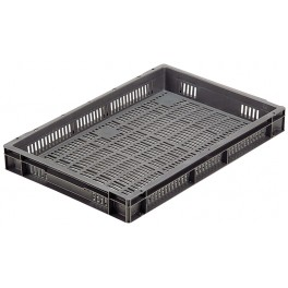 Euro Stacking Perforated Containers (600 x 400 x 73mm)