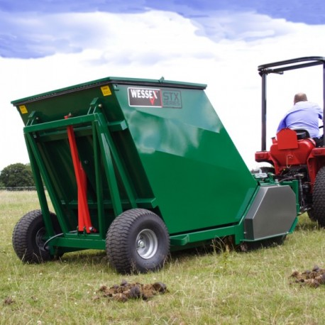 Dung Beetle Paddock Cleaner - PTO Driven and Semi-mounted 1.2m