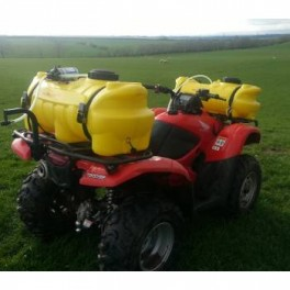 ATV Twin Tank Boomless Sprayer (40 Gallon)