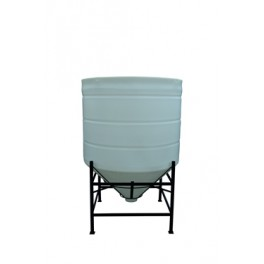 4900 Litre 45 Degree Open Top Cone Tank No Frame