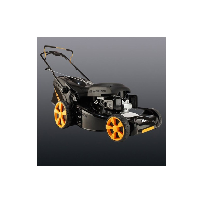 16 push rotary petrol mower mcculloch m40 125 small. Black Bedroom Furniture Sets. Home Design Ideas