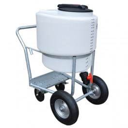 170 Litres Milk Kart with Mixer and Pump