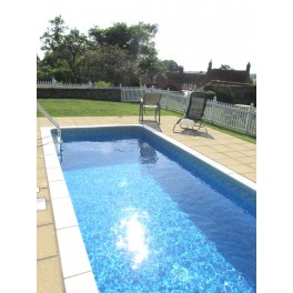 Pack of 1 Pool Fence - 8ft Wide and 4ft High
