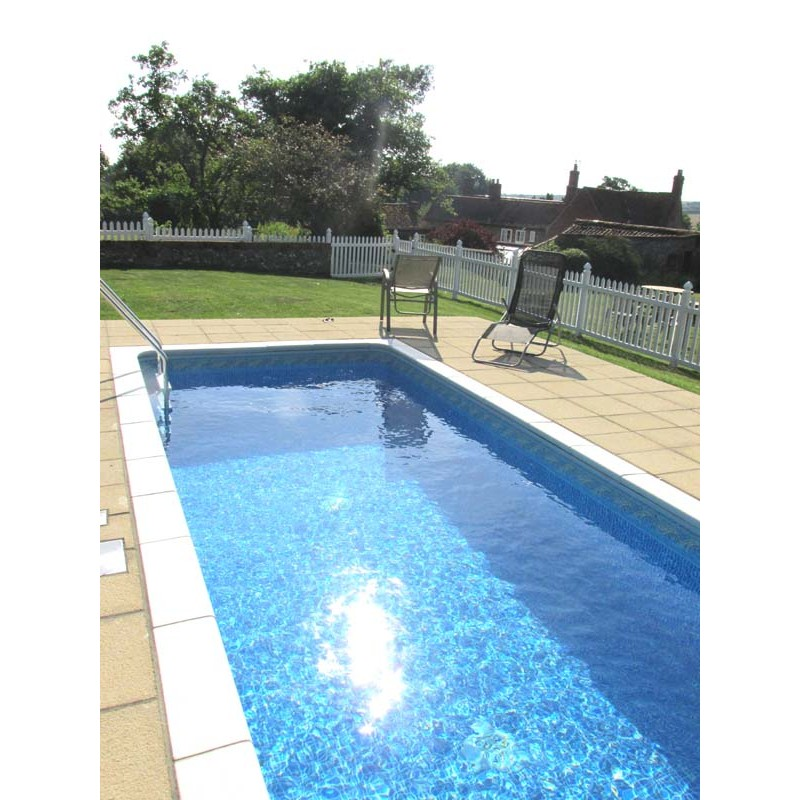 Pack Of 10 Pool Fence 8ft Wide And 4ft High Small