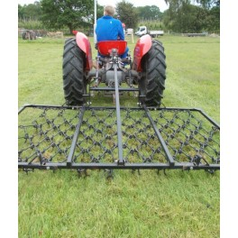 8ft Folding Mounted 3 Way Harrow (11mm)