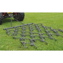 5ft - 3 Way Chain Harrow trailed