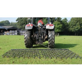 8ft - 3 Way Trailed Harrow- Double Depth