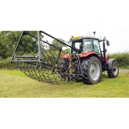 14ft - 3 Way Mounted Harrow, Folding Wings