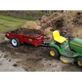 0.5 ton Ground Drive Manure Spreader - Model 27