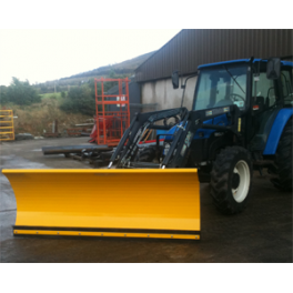 Tractor Front Loader Snow Plough 3m