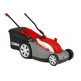 "13"" Electric Lawnmower with Rear Roller"
