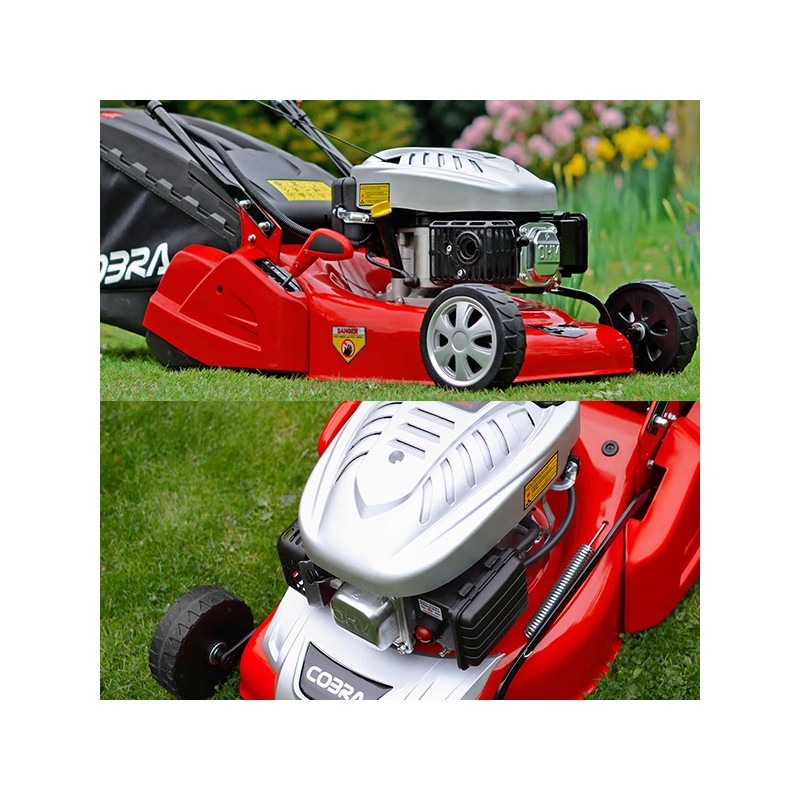 16 Quot Self Propelled Petrol Rear Roller Lawnmower Small