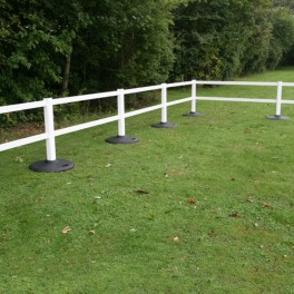 6ft x 3ft Portable Rail Fencing