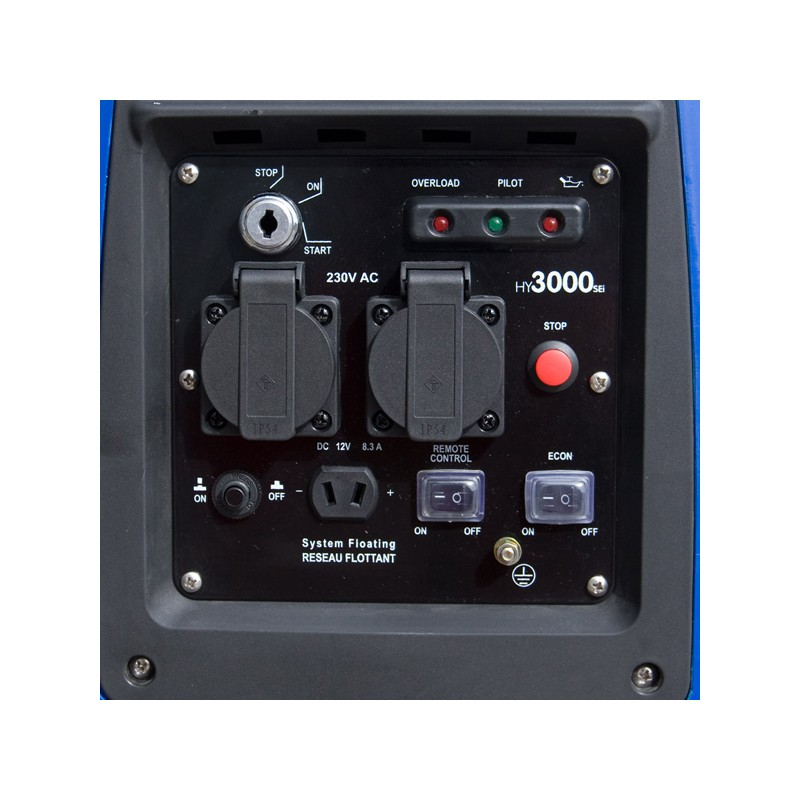 2800W Inverter Generator with Remote Electric Start - Small