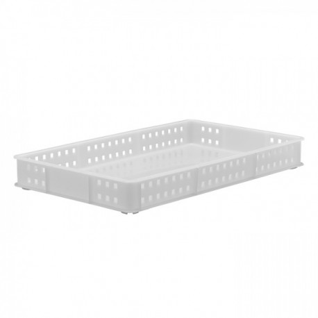 Stacking Container 90mm high - Mesh Sides & Solid Base
