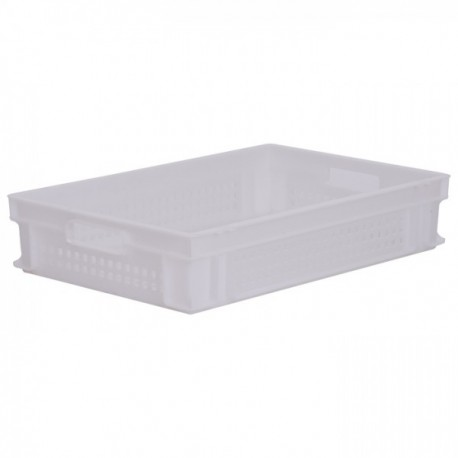 Stacking Container 23.7L - Perforated with Hand Grips
