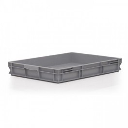 Stacking Container 45L - Solid with Shell Handles