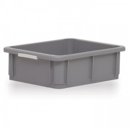 Stacking Container 10L - Solid with Hand Grips