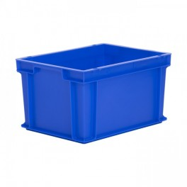 Stacking Container 19.8L - Solid with Hand Grips