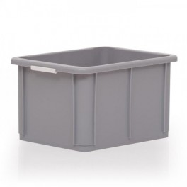 Stacking Container 20L - Solid with Hand Grips