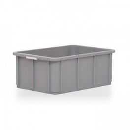 Stacking Container 40L - Solid with Hand Grips