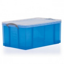 Stacking Container 35L - Solid with Lid and Locking Handle