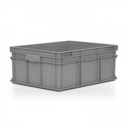 Stacking Container 134L - Solid with Shell handles