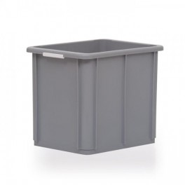 Stacking Container 30L - Solid with Hand Grips