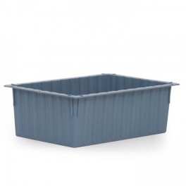Stack/Nest 37L Box - Solid with Optional Dividers