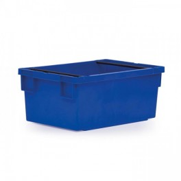 Stack/Nest 49.5L Solid Box with Hand Grips
