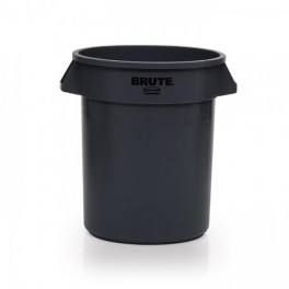 38L Round Bin with Moulded-in Handles
