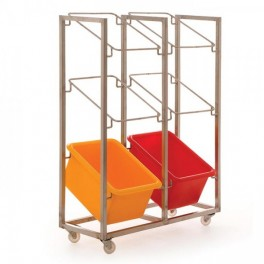 6 Container Mobile Frame (6 x 34L)