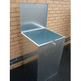 1 Compartment 250 Litres Lockable Feed Bin