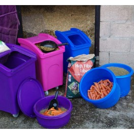 WHEELED FEED BIN - SMALL