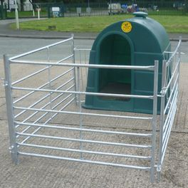 Single Calf Hutch Package