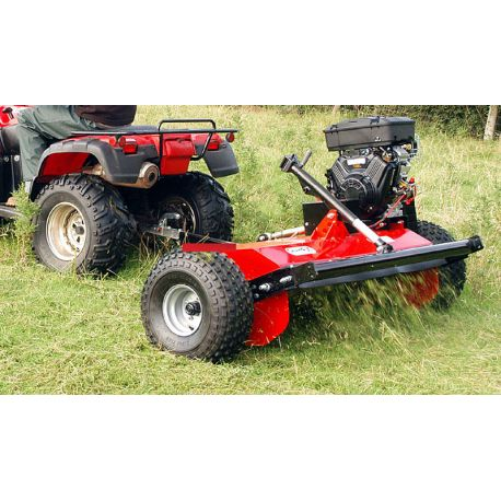 ATV FLAIL MOWER with 16HP Recoil v-twin Engine and Y
