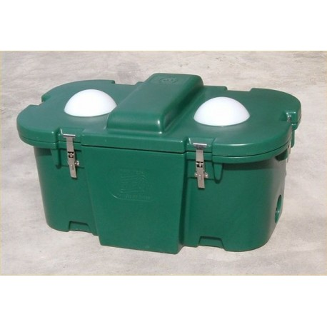 Double Ball Insulated Trough ID100