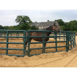 Corral Pen System - Paddock Pen - Lunge Ring (15 Panels and gate)