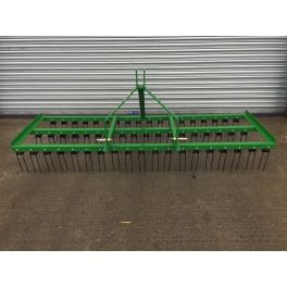7ft Wide Spring Tine Harrow (3 Rows)