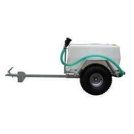 200L Site Tow Trailer Mounted Water Bowser - 120L/m - Single Axle