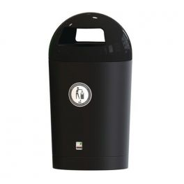 120L Metro Dome Top Outdoor Bin