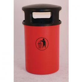 145L Hooded Plastic Litter Bin