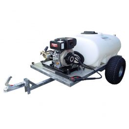 700L Site Tow Interpump Pressure Washer Bowser - 13LPM - 2900PSI - Petrol - Recoil Start