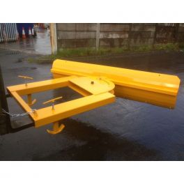 1.8m Fixed Fork Lift Snow Plough Blade