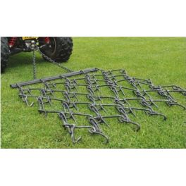 6' Chain Harrow trailed- Double Length Mat